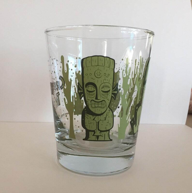 The Creep Ones Mai Tai glass  Green image 1