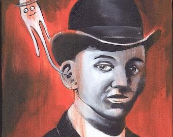 Edgar Cayce's Higher Self (Original Painting)