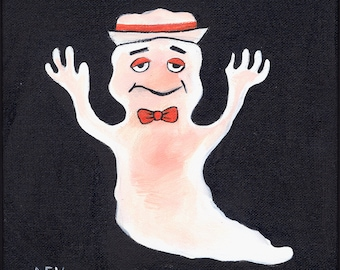 Boo Berry - Ghosts of October Original painting