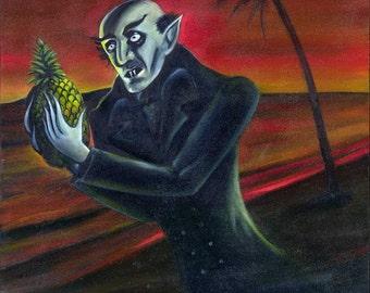 Nosferatu With Pinapple (fine art print)
