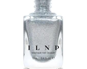 Avalanche - Pure Silver Holographic Nail Polish