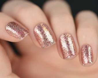 Juliette - Rose Gold Holographic Nail Polish
