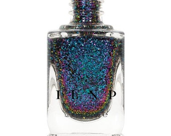 Paradox - Teal, Blue, Violet, Pink, Fuchsia Ultra Chrome Color Shifting Flakie Nail Polish