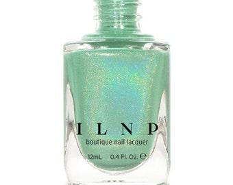 Princeton - Refined Mint Green Holographic Nail Polish
