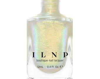 Head Start - Golden, Yellow, Grass Green, Cool Blue Iridescent Topper Nail Polish