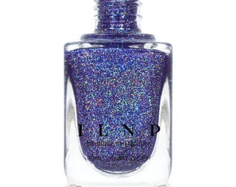 After Party - Blue Violet Holographic Nail Polish