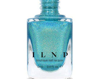 Sail Away - Vivid Turquoise Ultra Holographic Nail Polish