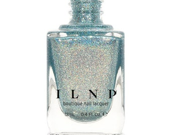 Shoreline - Seafoam Blue Holographic Nail Polish