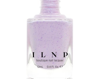 Heather - Pale Lilac Speckled Nail Polish