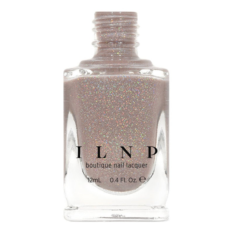 Manor House  Taupe Holographic Sheer Jelly Nail Polish image 0