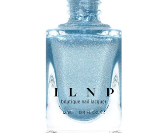 New Day - Icy Blue Holographic Metallic Nail Polish