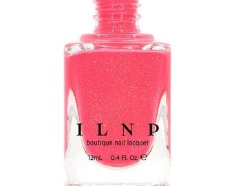 Summer Crush - Vibrant Pink Neon Holographic Nail Polish