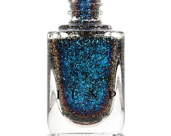 Ice House - Blue, Teal, Purple Ultra Chrome Color Shifting Flakie Nail Polish