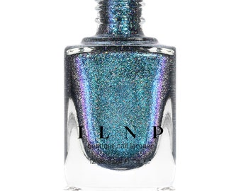Level Up - Teal to Purple Color Kissed Ultra Holographic After Dark Nail Polish