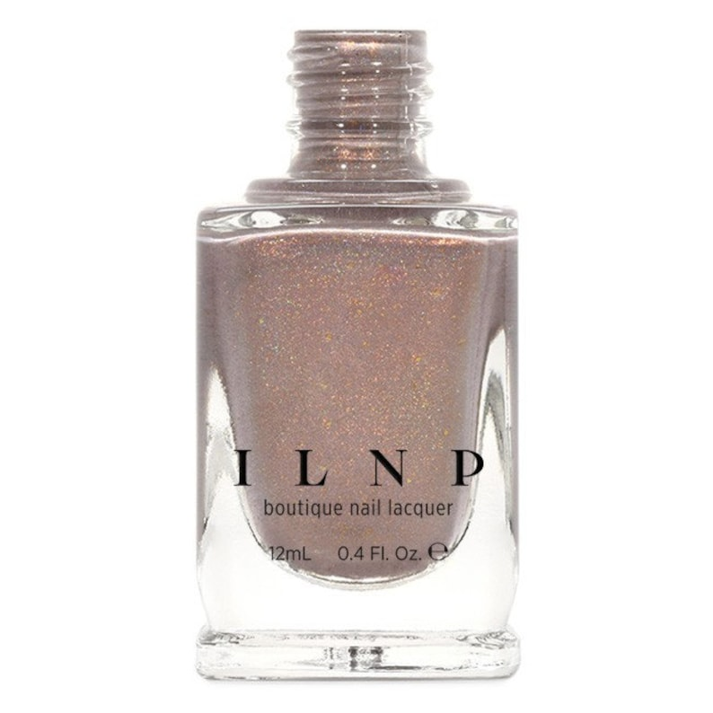Long Walks  Shimmery Taupe Holographic Nail Polish image 0