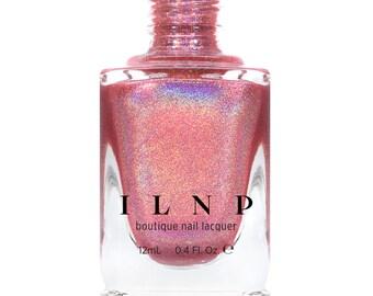 Kiss And Tell - Flamingo Pink Ultra Holographic Nail Polish