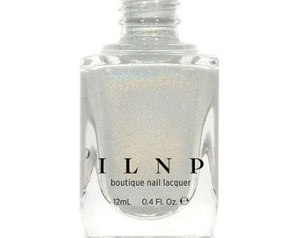 Paper Route - Light Grey Holographic Nail Polish