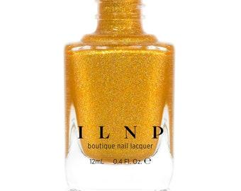 Sunglow - Glowing Gold Holographic Nail Polish