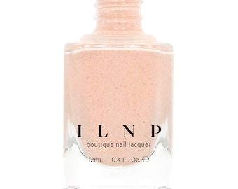 Cottontail - Soft Apricot Speckled Nail Polish