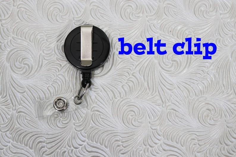 Siamese cat badge holder retractable badge holder planner clip