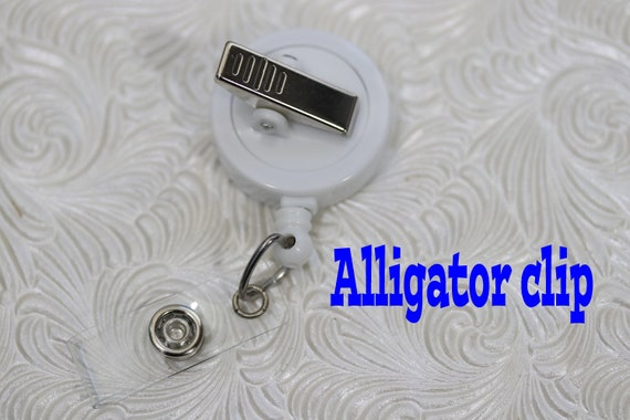 badge reel planner clip badge pull pediatric badge holder Holographic shark badge holder retractable badge holder