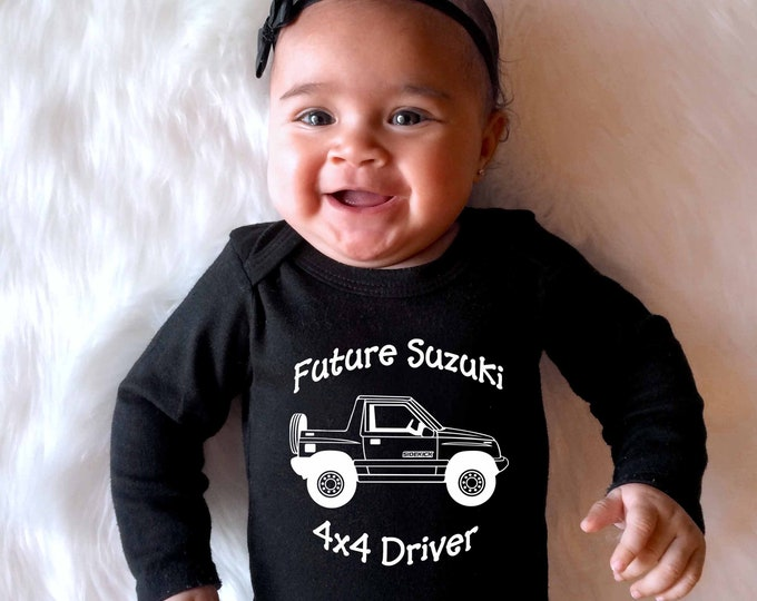 Suzuki Sidekick, or Geo Tracker Baby Onesies or Toddler T-Shirt
