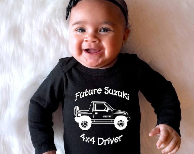 Suzuki Sidekick, or Geo Tracker Baby Onesies or Toddler T-Shirt