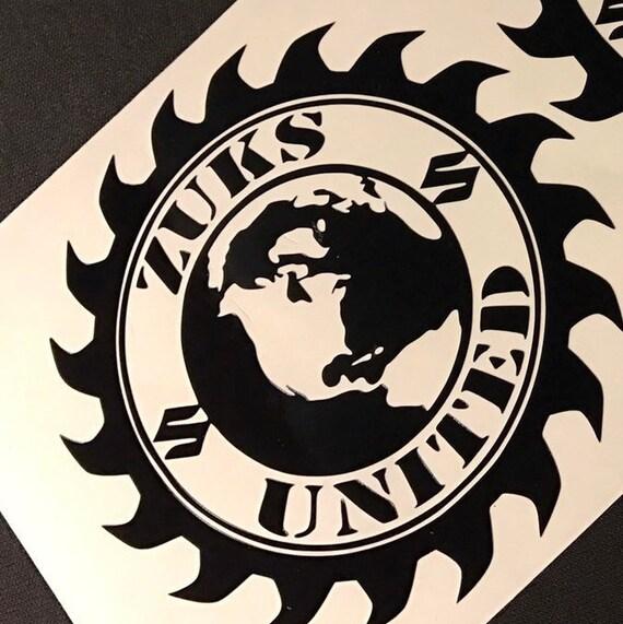 Zuks United Car Decal