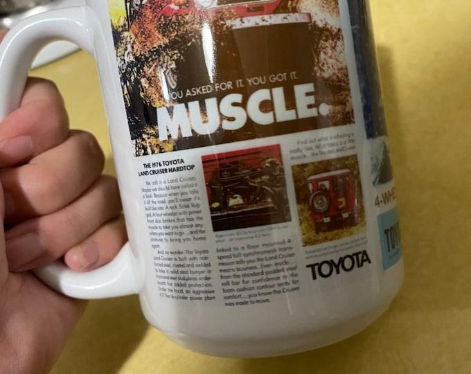 Toyota Land Cruiser custom sublimated mug