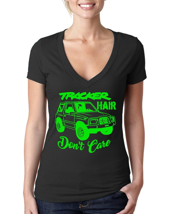 Tracker Hair Don't Care Tshirt Size SM - XL