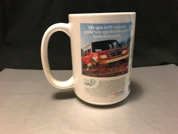 Suzuki Sidekick Sport custom sublimated mug
