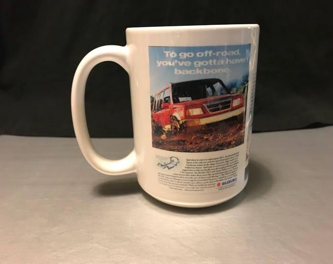 Suzuki Sidekick Sport custom sublimated mug