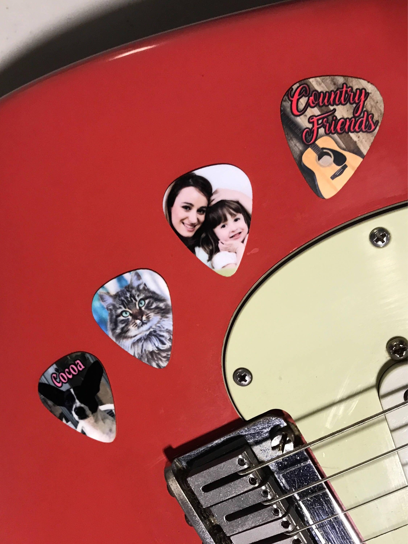Custom Guitar Picks 6 Personalized Novelty Guitar Picks Your