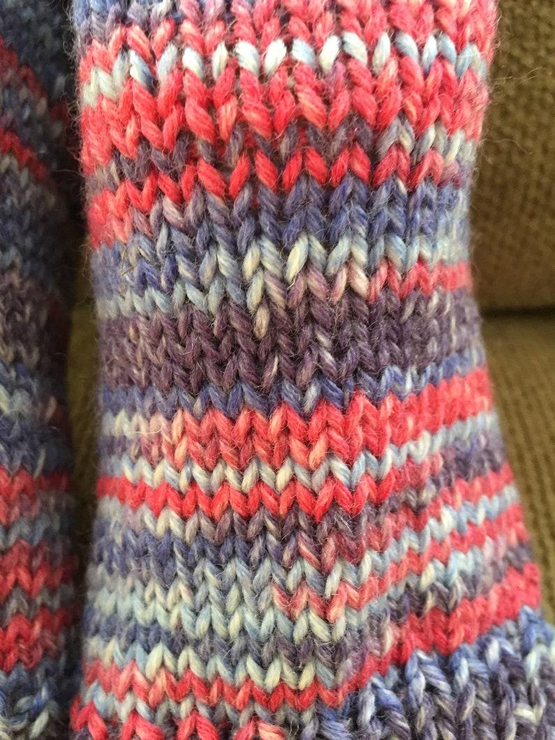 Silk and Extra Fine Merino Wool Pedicure  Spa socks