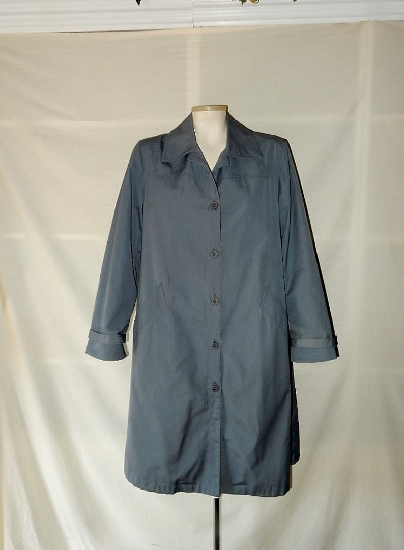 Clothing, Shoes & Accessories Coats & Jackets London Fog Usa Long Wool Coat Overcoat Mens Size 42l 42 L Large Dark Gray