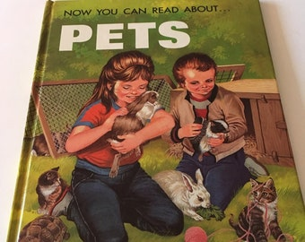 Now You Can Read About...Pets - Large Type For First Readers - 1984