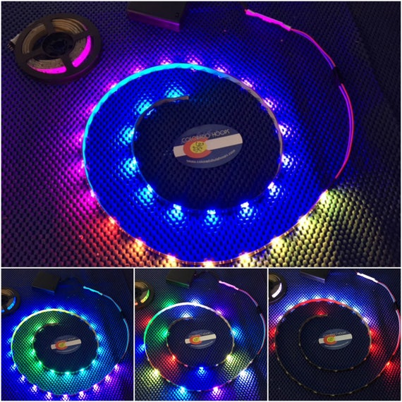 cff544cf8c3 Dream LED Strip WS2811 Battery Operated Kit - 40 inches - 76 Color Chasing  Modes