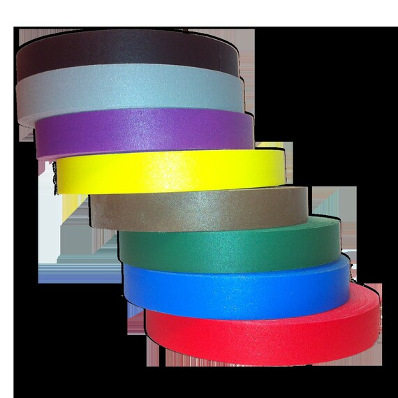 UV Reactive 12 Gaffers Hula Hoop Grip Craft Tape All UV Neons to Choose From Glow with UV Light