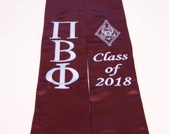 Pi Beta Phi Graduation Stole