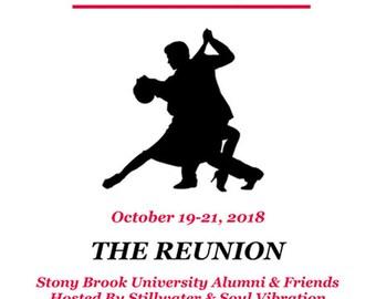 STILLSOUL- STILLWATER-SOUL Vibrations - Stony Brook Alumni & Friends Reunion Tee Shirt