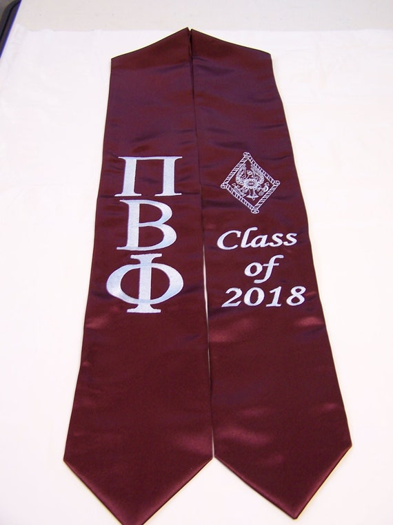 Pi Beta Phi Graduation Stole