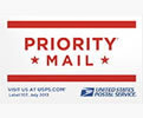PRIORITY MAIL Shipping Upgrade - 4 Days transit time from Atlanta GA