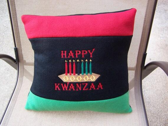 "KWANZAA 15"" THROW PILLOW"