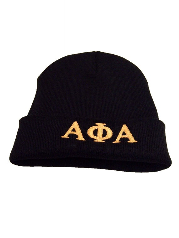 Alpha Phi Alpha, Phi Beta Sigma, Omega Psi Phii Knit Beanie