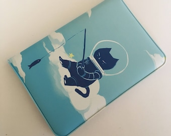 Space Cat Card Holder