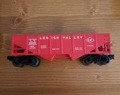 Lionel 6076 Red Lehigh Valley Hopper