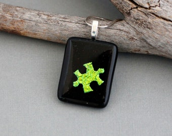 Autism Jewelry - Autism Necklace - Puzzle Piece Jewelry - Autism Mom Jewelry - Autism Teacher Gift - Autism Awareness - Gift For Teacher
