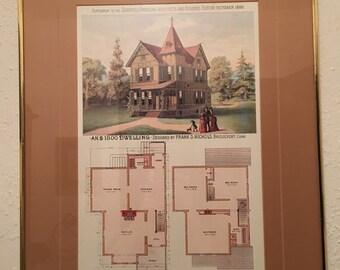1800 architectural plans
