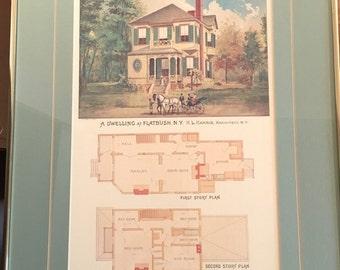 1886 architectural plans