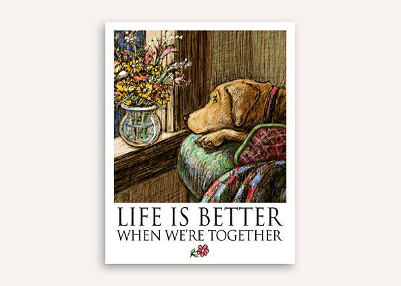 Wish you were here Life Is Better print with FREE customer image 0